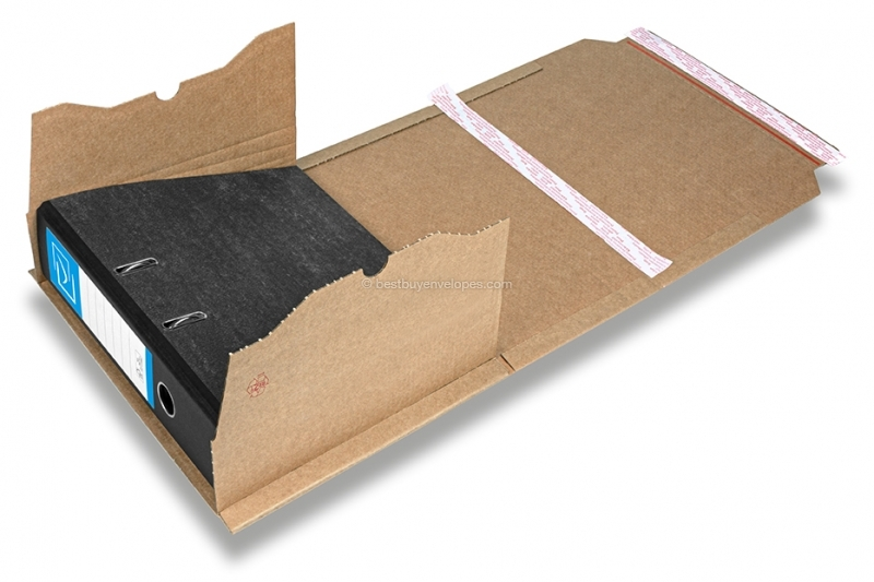 Lever-arch file packaging