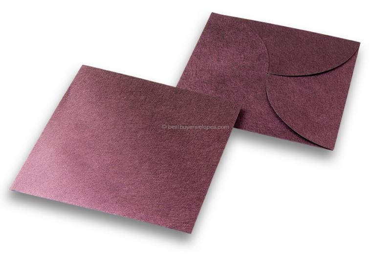 Pochette-style envelopes - Purple