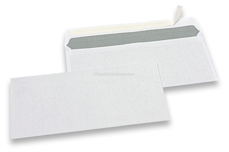 Basic envelopes, 110 x 220 mm, 80 grs., no window, strip closure