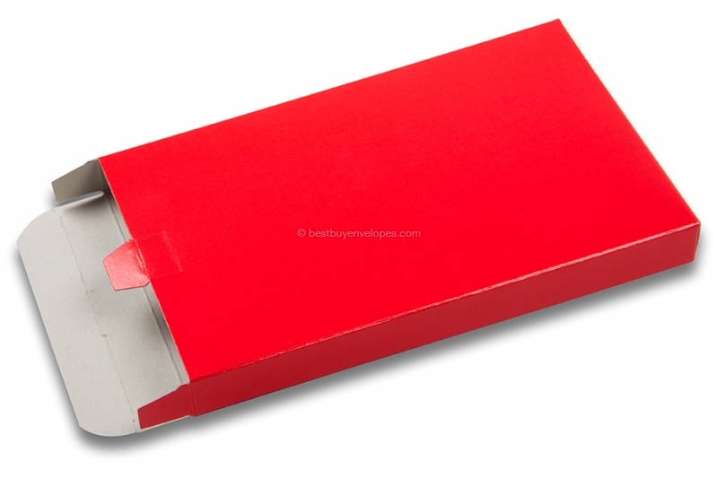 Shiny coloured post boxes - red