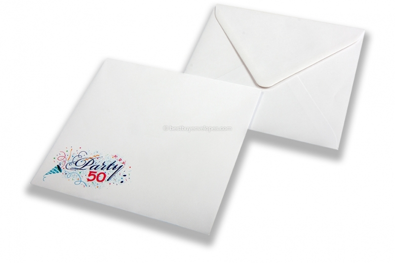 Birthday envelopes - party 50