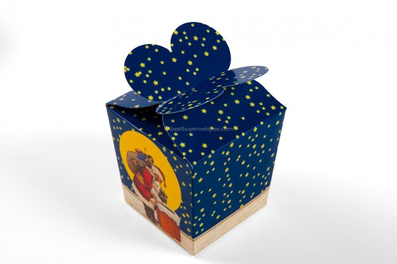 Gift boxes, Christmas blue