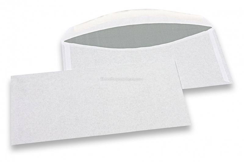 Basic envelopes, 114 x 229 mm, 80 grs., no window, gummed closure