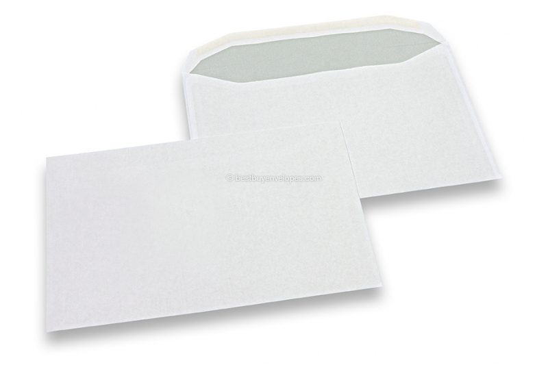 Basic envelopes, 162 x 229 mm, 90 gr., no window, gummed closure