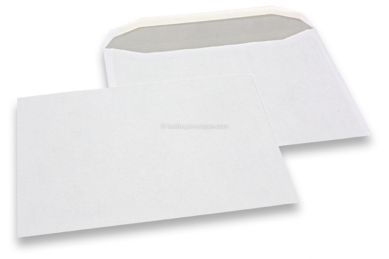 Basic envelopes, 229 x 324 mm, 100 grs., no window, gummed closure
