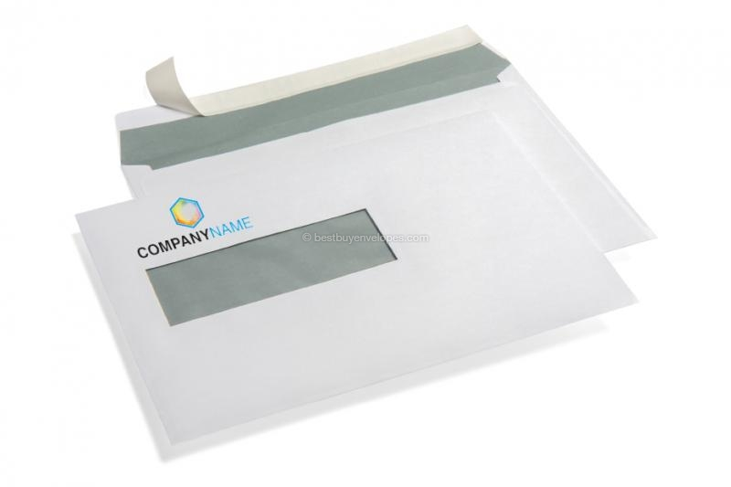 Window envelopes white