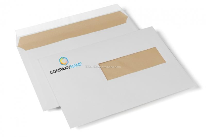 Window envelopes offwhite