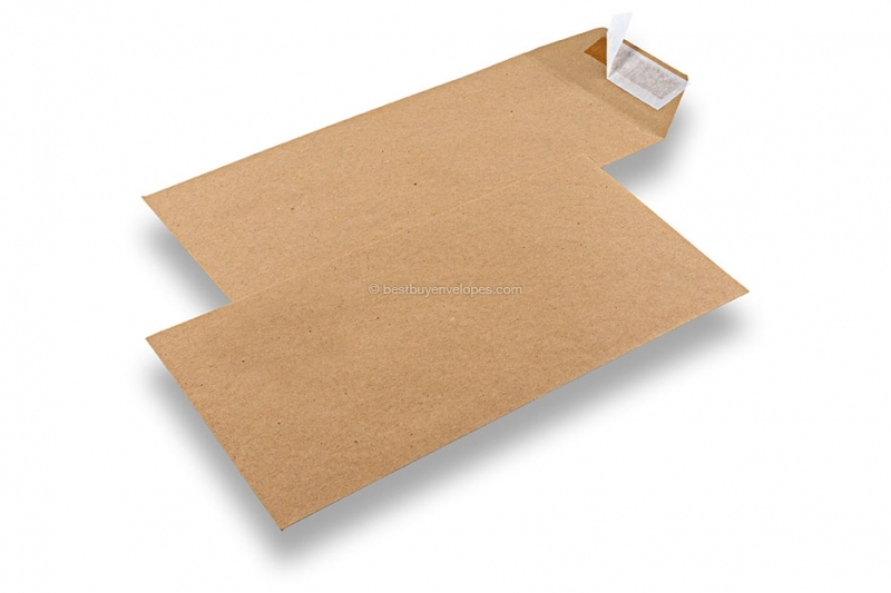 Recycled business envelopes, 110 x 220 mm, EA 5/6, flap short side, peel & seal, 115 grs.