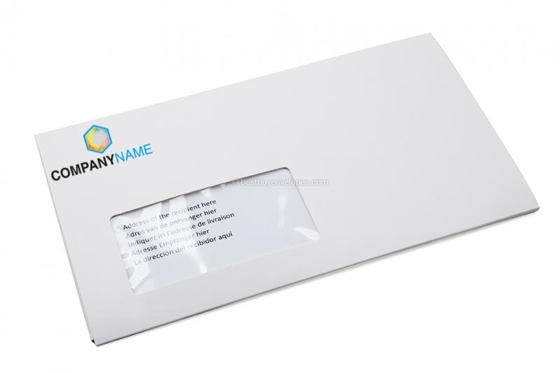 Cardboard envelopes with multimedia pocket - folded with window ( photo 4 of 4)
