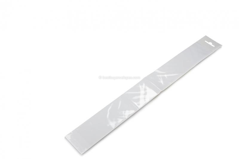Cellophane bags with euro closure - 50 x 380 mm