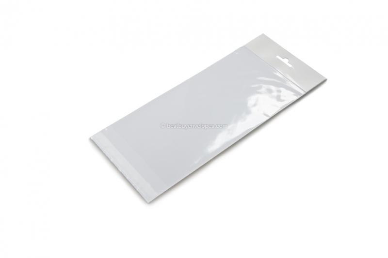 Cellophane bags with euro closure - 95 x 230 mm