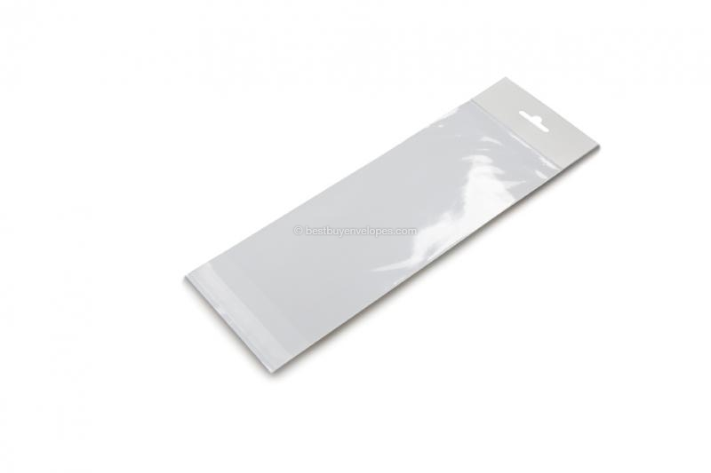 Cellophane bags with euro closure - 120 x 230 mm