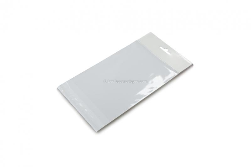 Cellophane bags with euro closure - 125 x 170 mm