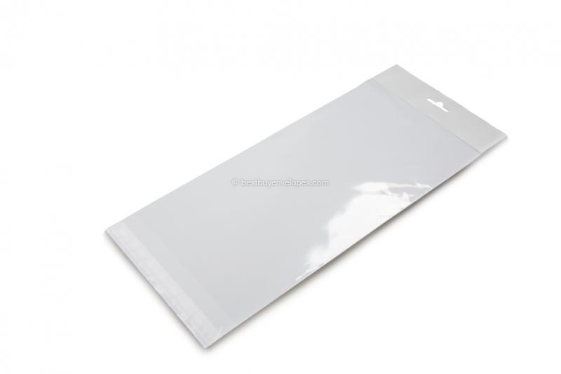 Cellophane bags with euro closure - 152 x 305 mm