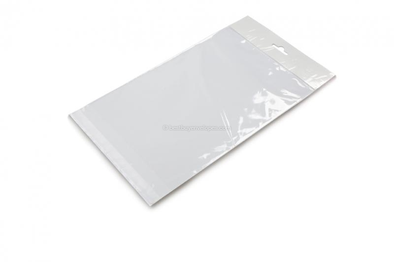 Cellophane bags with euro closure - 170 x 240 mm