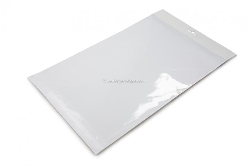 Cellophane bags with euro closure - 240 x 335 mm
