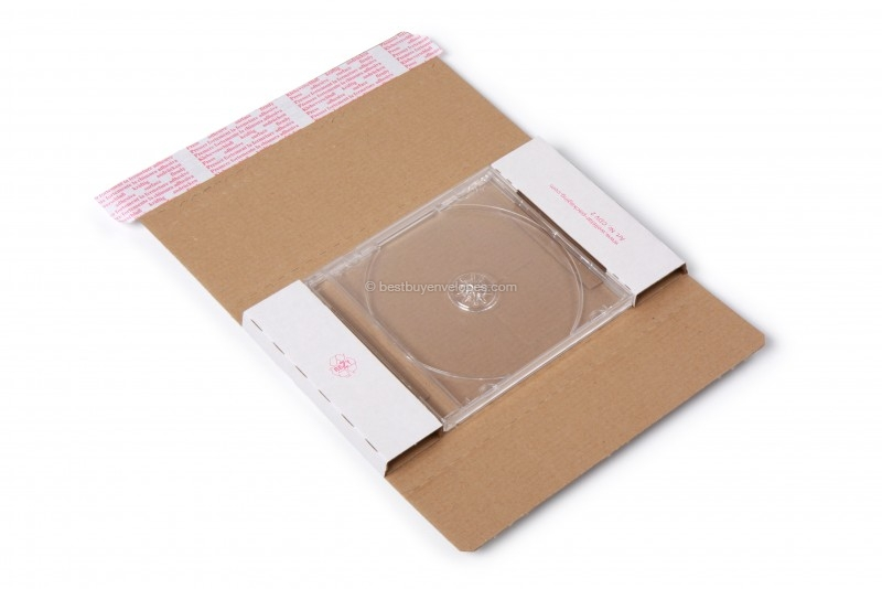 2) You place the CD in the packaging