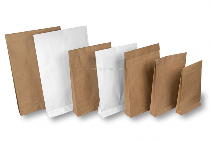 Order paper bags with seal strip online bestbuyenvelopes paper bags with seal strip m4hsunfo
