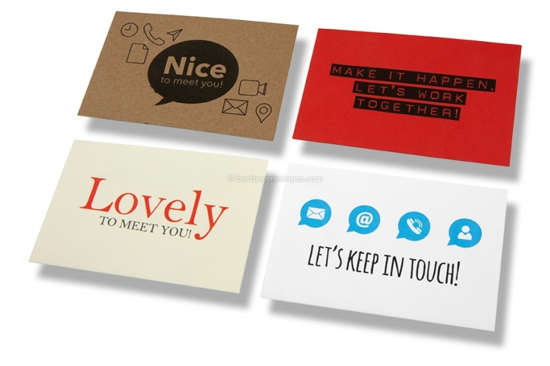 patterned business card envelopes - Business Card Envelopes